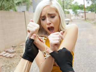 Shoplifter Naomi Woods tries to bargain her way..