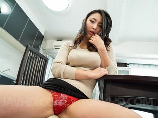 Yuri Honma with sucked boobs has cum pouring..