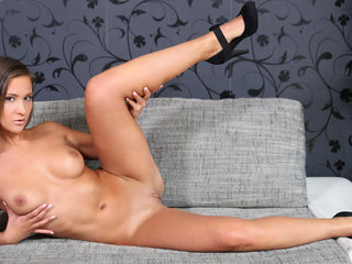 Czech seductress Naomi Bennett is eager to show..