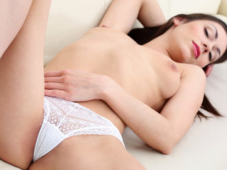 23 year old Arwen Gold is a luscious nubile coed..